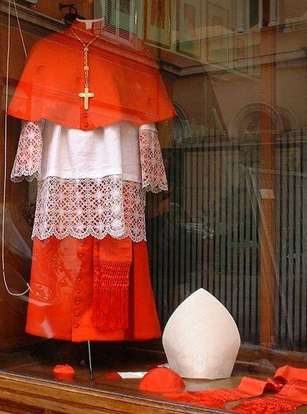 oděv kardinála