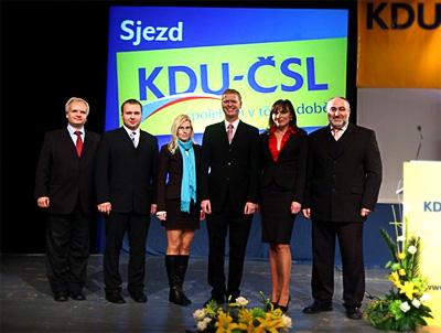 Nové předsednictvo KDU-ČSL