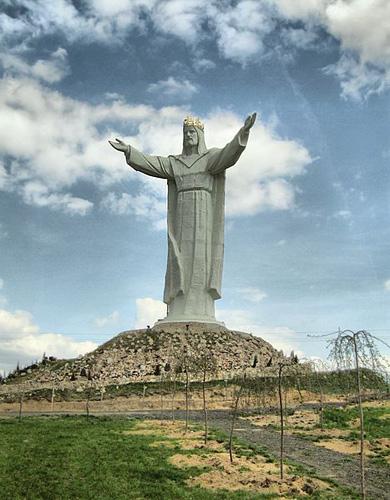 Socha Krista Krále