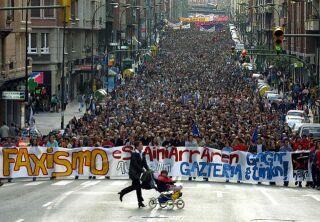 Pochod na podporu ETA