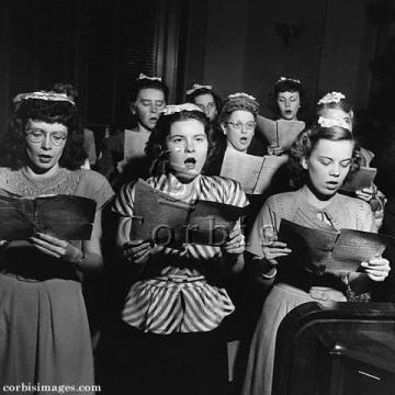 Kostelní sbor dívek